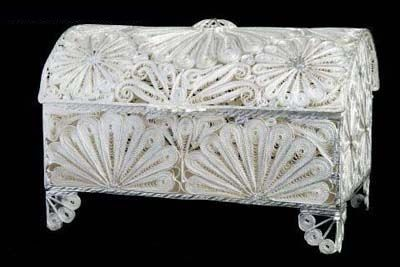 filigree jewelry box