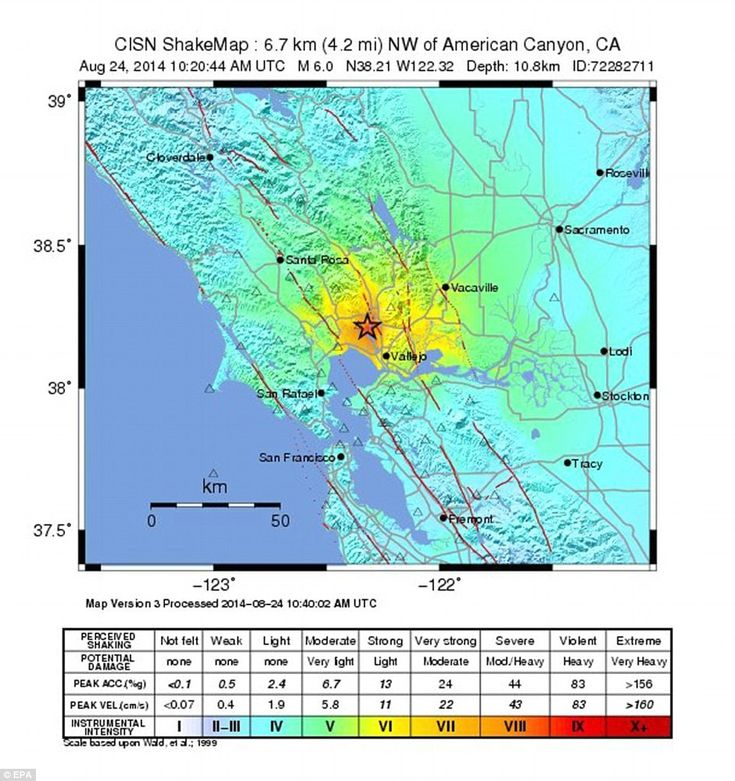 Best  Usgs Earthquake Map Ideas On Pinterest Quake Map Live - Us earthquake map
