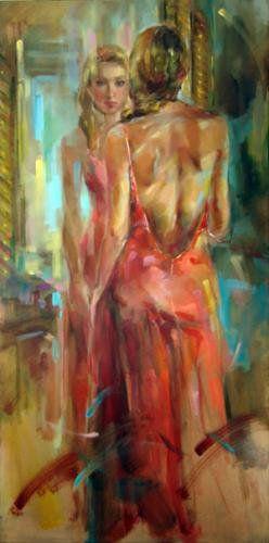 "Anna Razumovskaya | Russia....""MIRROR MIRROR ON THE WALL --- FOR THE LOVE OF ME"""