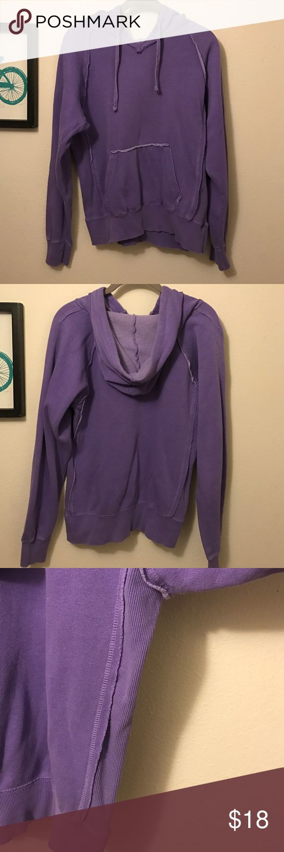 Ocean Drive purple hoodie Super comfy purple hoodie by Ocean Drive. Size L although I would say it runs a bit small. Very gently worn, no flaws! Ocean Drive Tops Sweatshirts & Hoodies