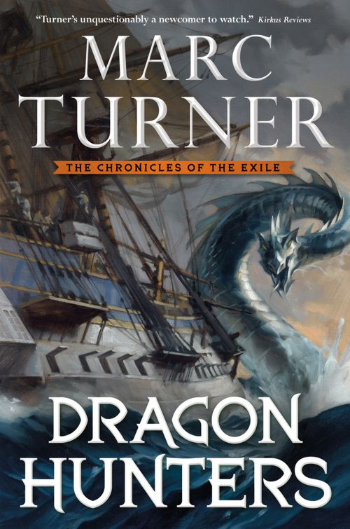 Books by Proxy | The Friday Face-Off - Dragon Hunters by Marc Turner US Cover