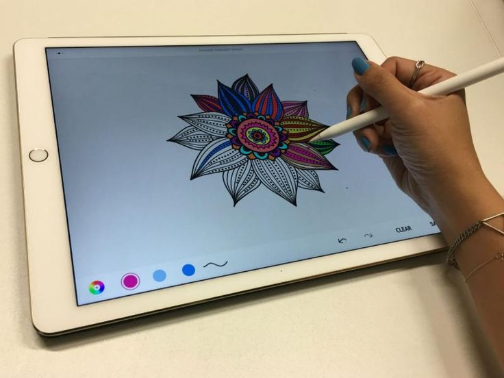 The best iPad Pro art therapy apps for people who can't art | Stuff