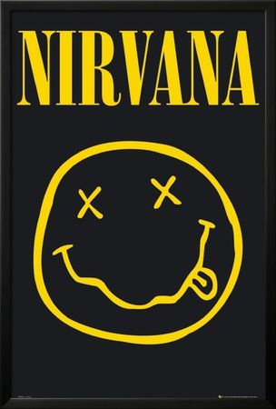 NIRVANA - Smiley Posters na AllPosters.com.br