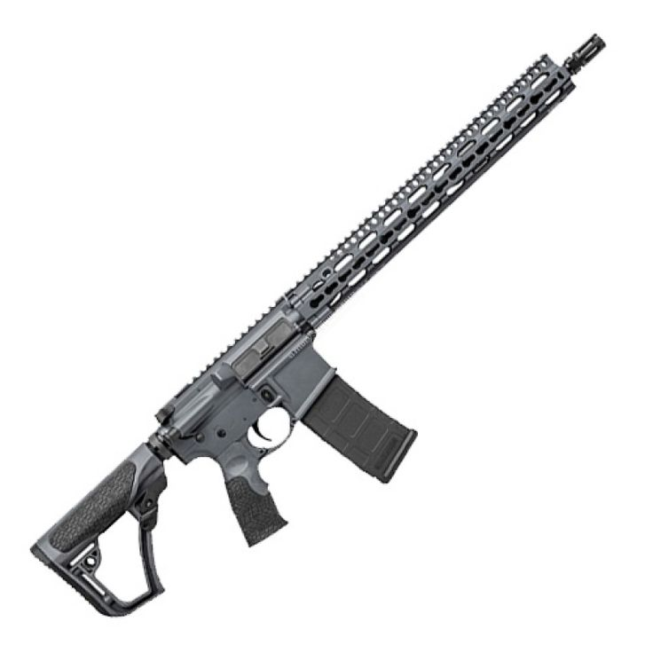 The Daniel Defense DDM4 V11 semi-auto rifle is designed for those who enjoy using the keymod design in the popular Slim Rail.