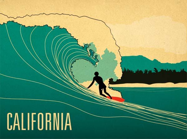 surfer / california