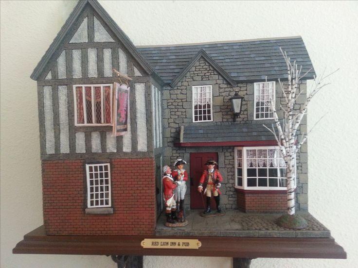 Red Lion Inn diorama