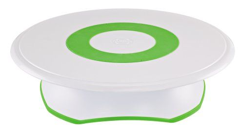 I LOVE this handy tool, I am not a proffesional and this is great for home use! - Wilton Trim-N-Turn Ultra Rotating Cake Stand Wilton,http://www.amazon.com/dp/B0016BPTSU/ref=cm_sw_r_pi_dp_PeyKsb1128WFA1FZ
