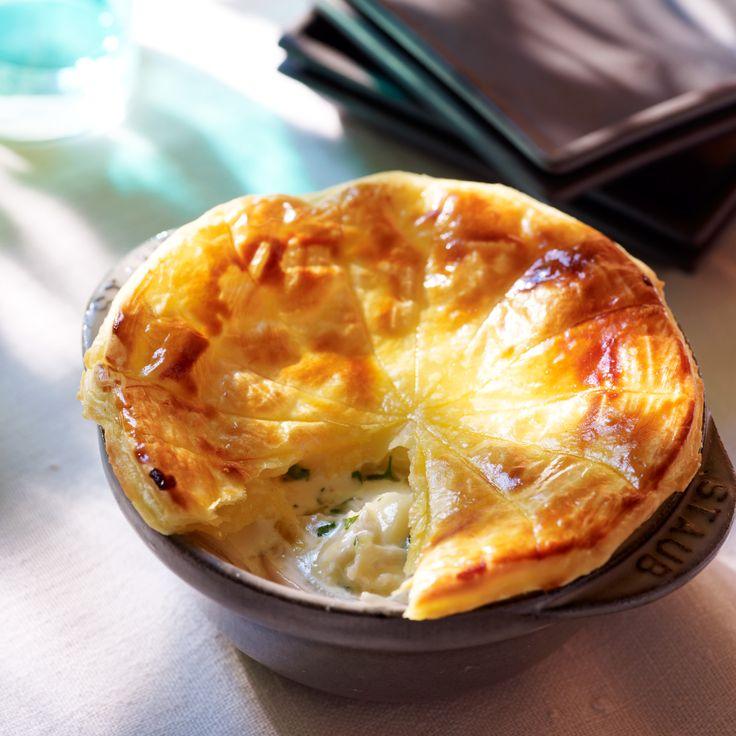 Tourte Normande (Camembert-Poireaux-Oignon-Pommes de Terre-Pâte feuilletée)