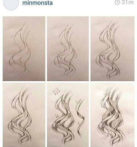 Wavy hair | Minmonsta
