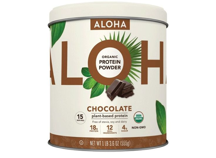 ALOHA Chocolate protein powder - Best Protein Powder