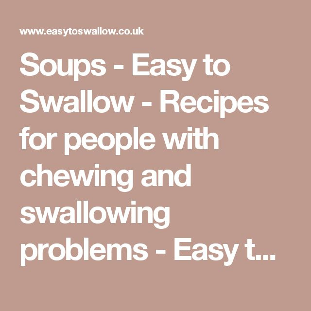 627 Best Dysphagia Images On Pinterest Oral Motor Swallow And