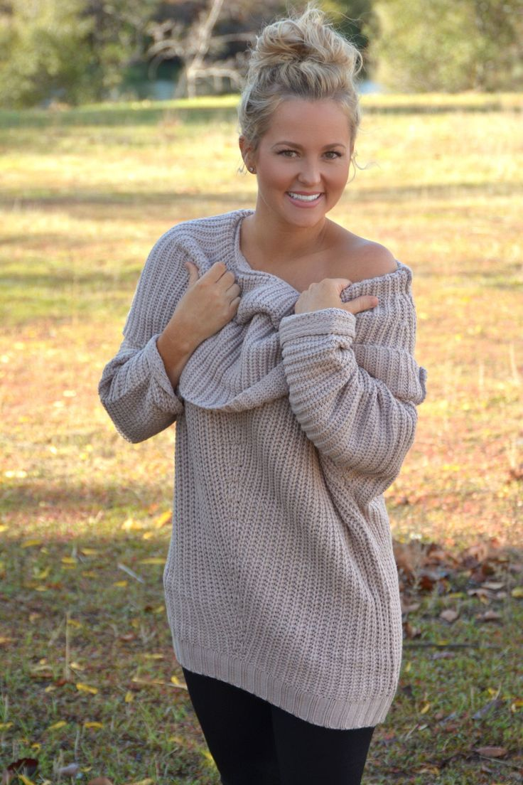 25 best off shoulder sweaters images on Pinterest | Blouses ...