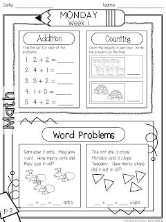 Worksheets Daily Morning Work 1st Grade 1000 images about morning work 1st grade on pinterest simple 9 weeks includes 90 pages 45 language