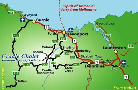 #Cradle Chalet, Moina Tasmania - Gateway to #CradleMountain  #Tasmania  www.cradlechalet.com.au