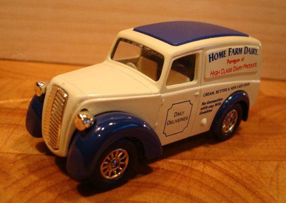 Morris Z van 1950 Lledo plc 0903