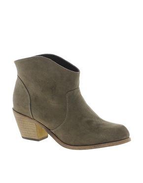 London Rebel Cuban Heel Boot