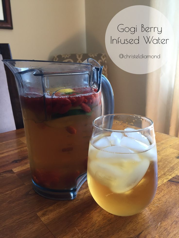 Gogi Berry Infused Water