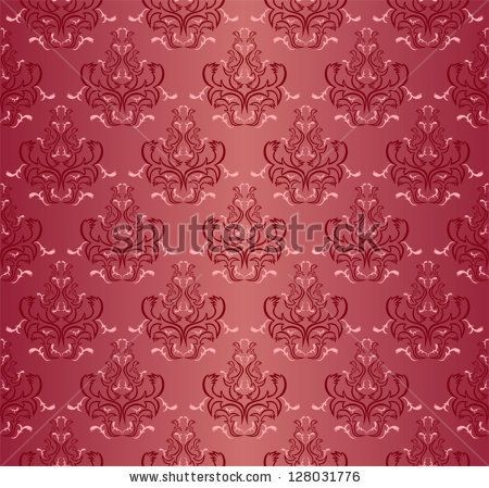 Damask seamless floral pattern. - stock vector