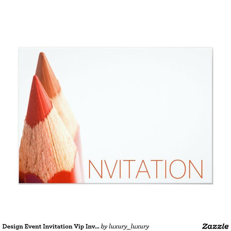 Design Event Invitation Vip Invitation