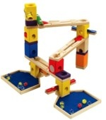 Quadrilla marble run toy - Melody Basic set