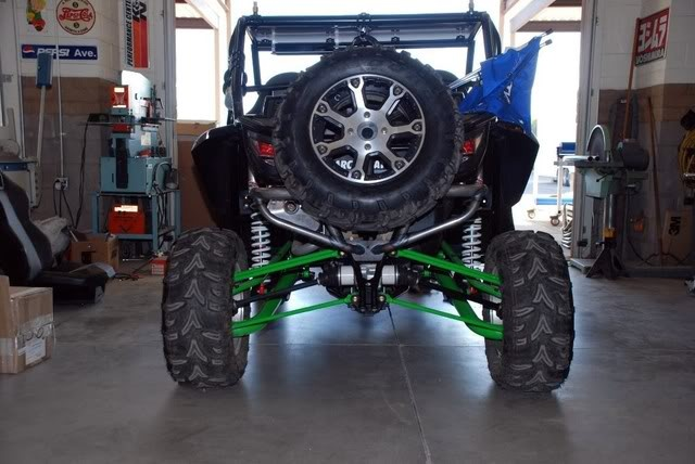 3 Inch Lift Kit >> ARCTIC CAT WILDCAT REAR BUMPER & SPARE TIRE CARRIER ...