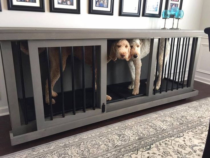 Custom Dog Kennel | craft | custom wood | practical furniture | dog | large dog| cage | Nashville TN | Functional | Furniture by Brad