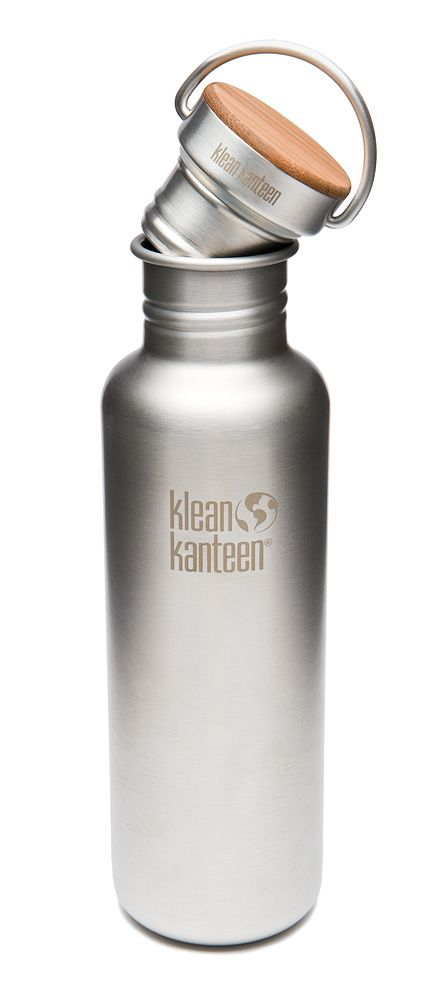 Stainless steel Reflect bottle keeps you hydrated during the day and does it with class by its timeless design. Reflect is a meant to replace your daily plastic bottle with an alternative that lasts a lifetime. #kleankanteen #drinkingbottle