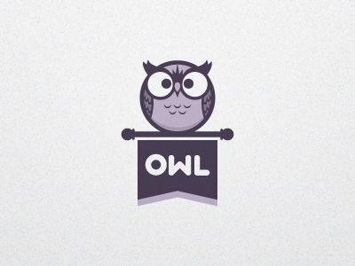 Dribbble - Owl Logo V1a by Jacob Greif