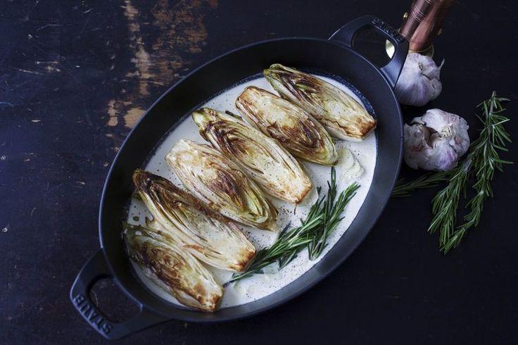 Buttery Braised Belgian Endive  recipe on Food52