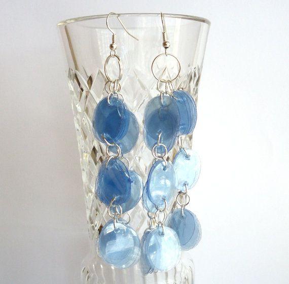 543 best images about joyeria reciclada on pinterest pop - Plastic bottle jewelry making ...