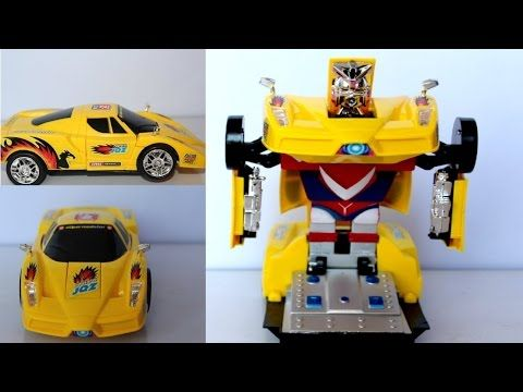 Transformers Amazing Robot Turn Super Cars Bump N' Go Trucks Mega Bumblebee Toy Review I KTC - YouTube