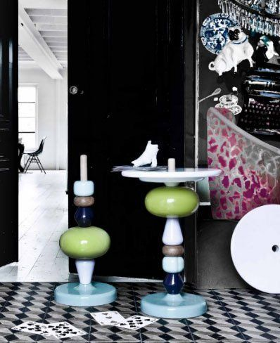 Found It: Shuffle Table by Mia Hamborg   Apartment Therapy