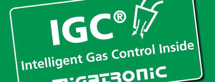 Intelligent Gas Control from Migatronic