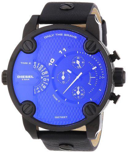 Diesel DZ7257 sba oversize chrono black pyramid texture dial black leather strap men watch NEW Diesel,http://www.amazon.com/dp/B008MXNXP6/ref=cm_sw_r_pi_dp_jrqGtb1QZ74NYD5N
