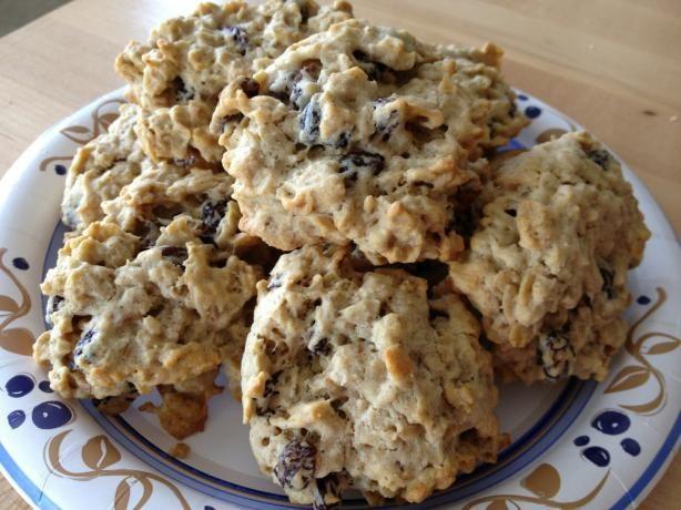 Oatmeal Raisin Cookies Made With Splenda Sugar Blend for Baking -Perfect for Diabetics & Very Tasty!