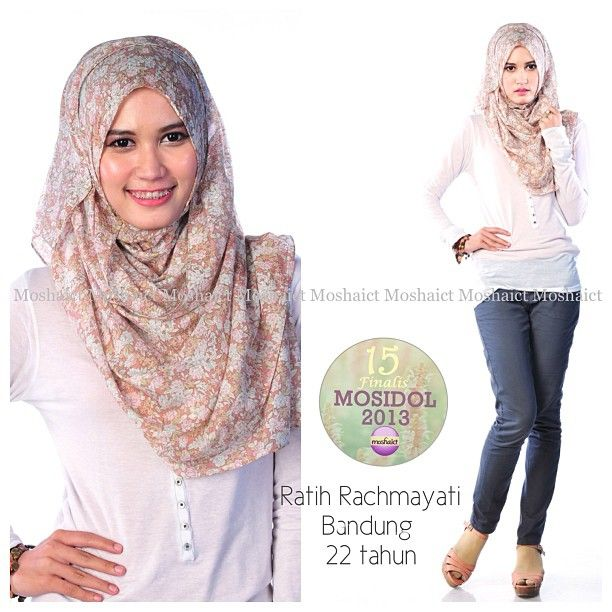 Ratih Rachmayati : 15 besar MosIdol 2013 #MosIdol2013 #moshaict #hijab #fashion #fashionhijab #islamicfashion | www.moshaict.com