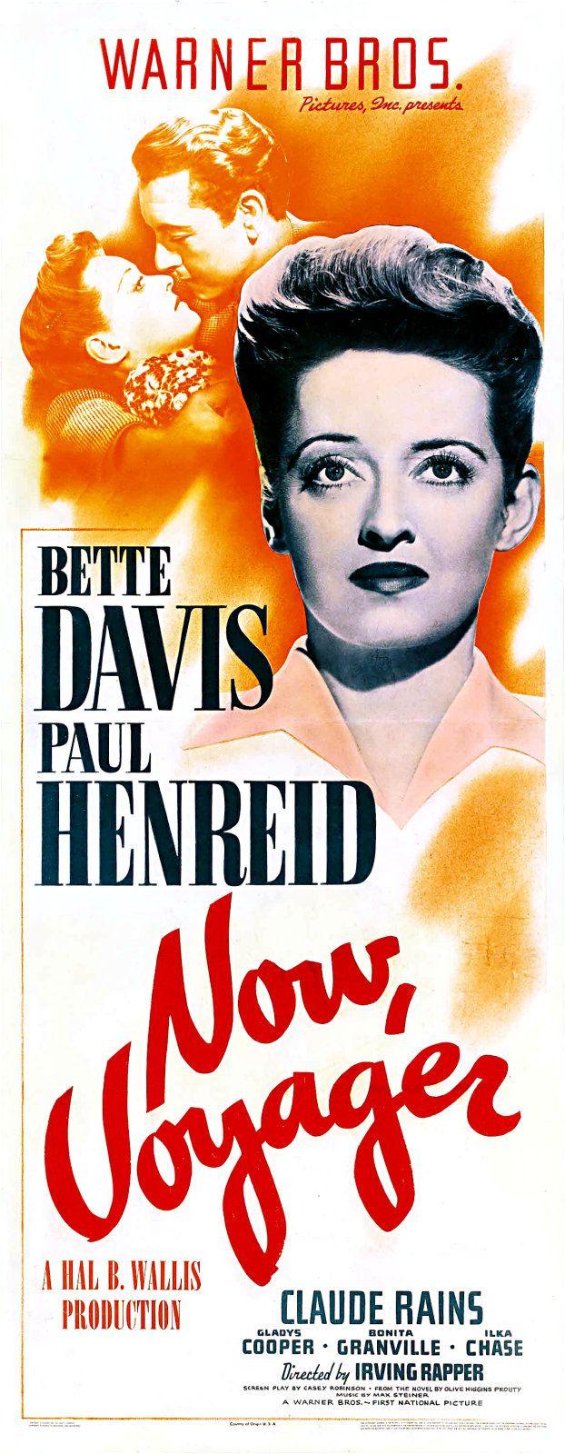 """""""Now Voyager"""" (1942)  Bette Davis, Paul Henreid, Claude Rains"""