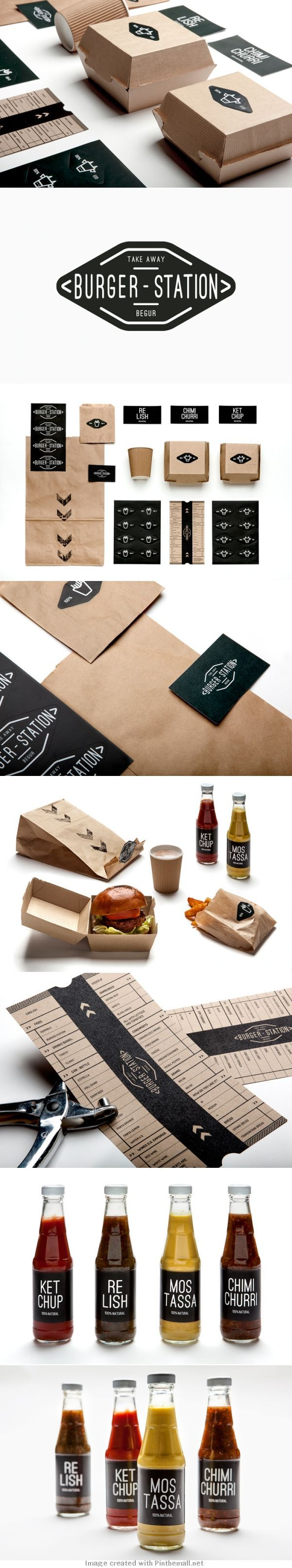 Retro vintage logo design. Marketing material really boosts the design. food packacking