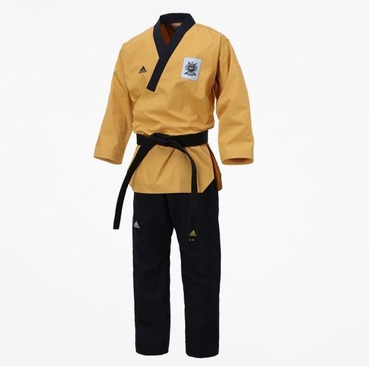 Adidas TaeKwonDo Poomsae Uniform High Dan Master Uniforms Dan Dobok WTF Korean #adidas