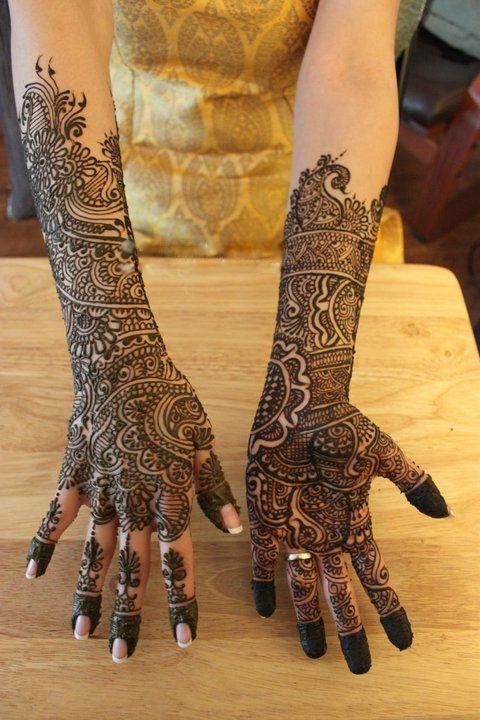 wedding henna designs   MEHNDI DESIGN: Bridal Mehndi Design / Full Hand Henna Design