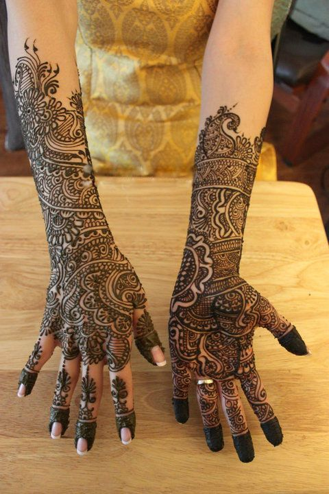 wedding henna designs | MEHNDI DESIGN: Bridal Mehndi Design / Full Hand Henna Design