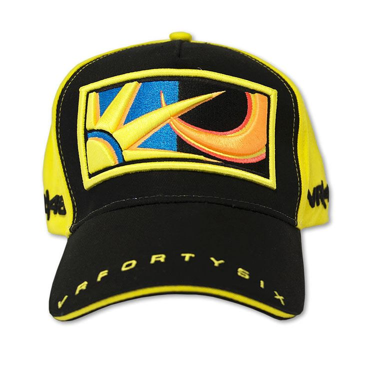 VR46 Valentino Rossi Black Yellow Sun and Moon Paddock Cap Description: The VR46 Rossi Baseball Cap is packed with features.. Specifications include 100% Cotton Colour: Yellow Hand wash only Official Valentino Rossi Merchandise Adjustable velcro... http://bikesdirect.org.uk/vr46-valentino-rossi-black-yellow-sun-and-moon-paddock-cap/