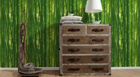 Papier peint bambou 93871-8 Lutèce Authentic Walls - BRICOFLOR