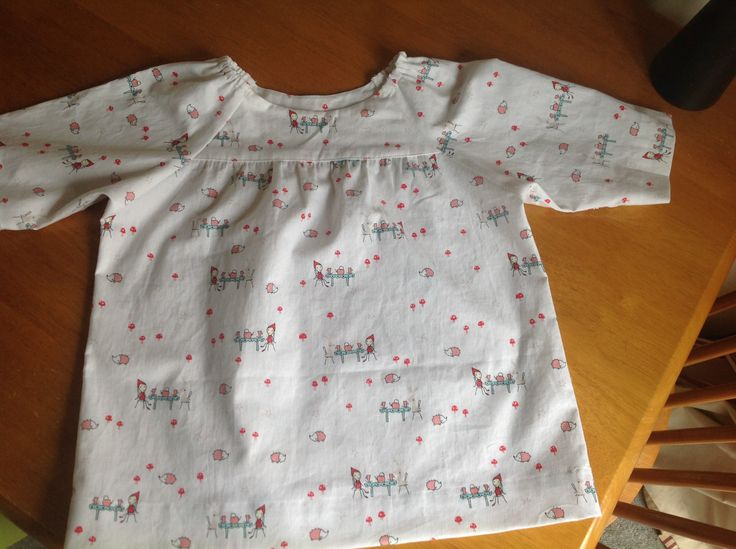 Lovely new top for Ella. Oliver and S Classic Picnic Blouse.