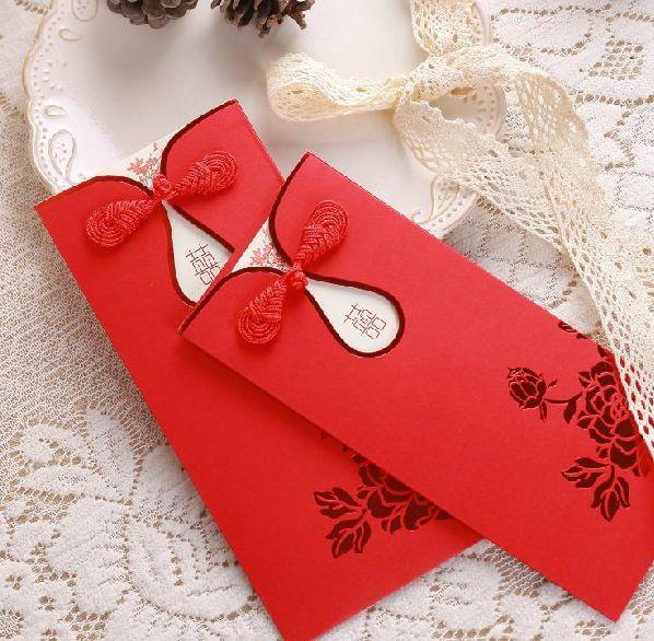 Chinese wedding card