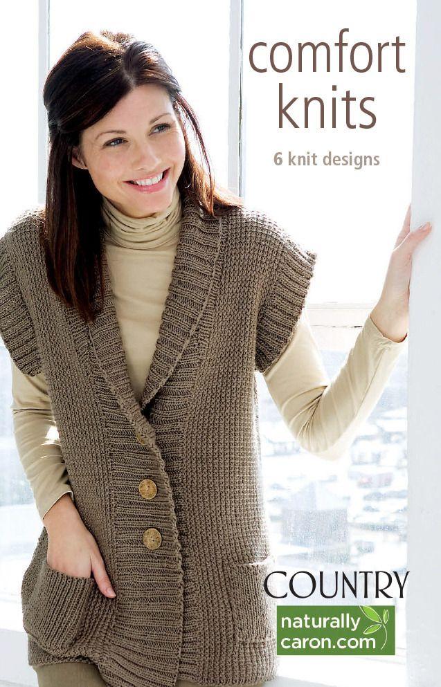 Comfort Knits eBook - Leisure Arts