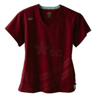 IguanaMed red scrub top. Great active wear for nurses and all other hospital workers!