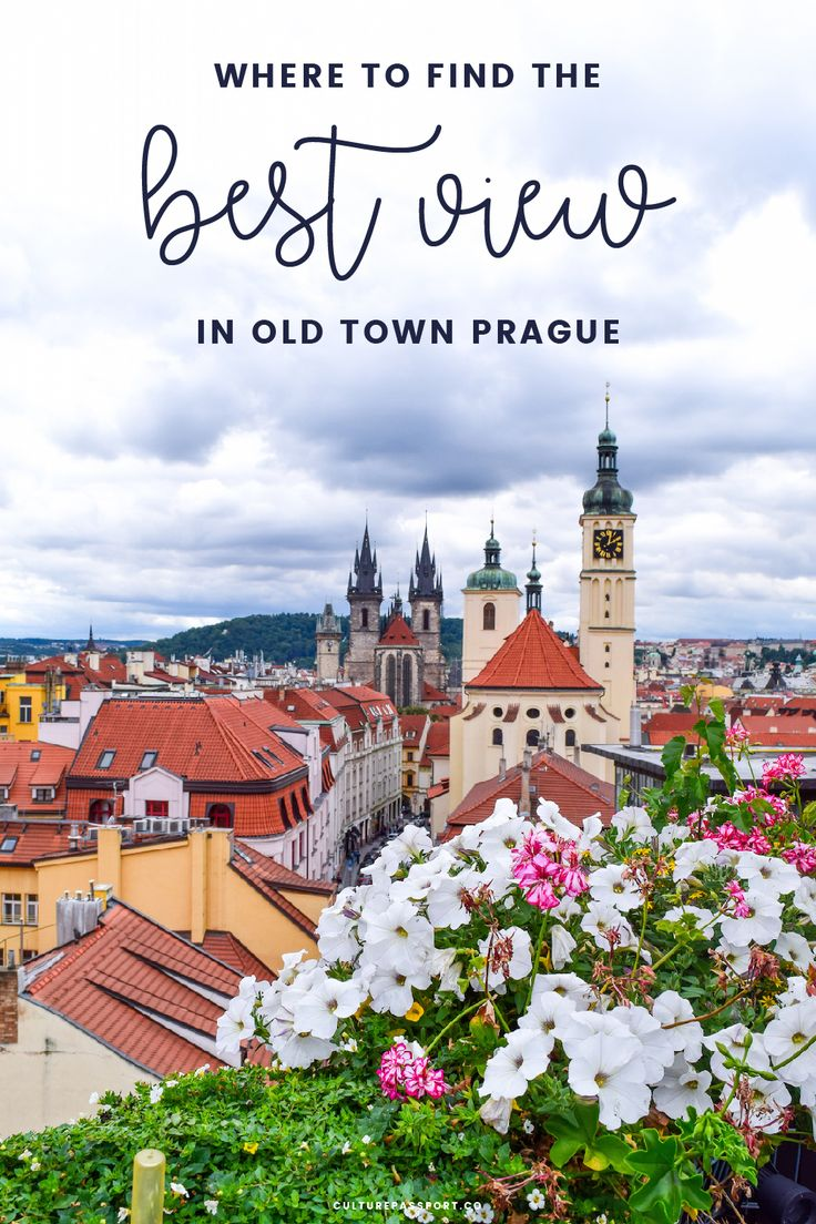 Where to go for the Best View in Prague, Czech Republic!