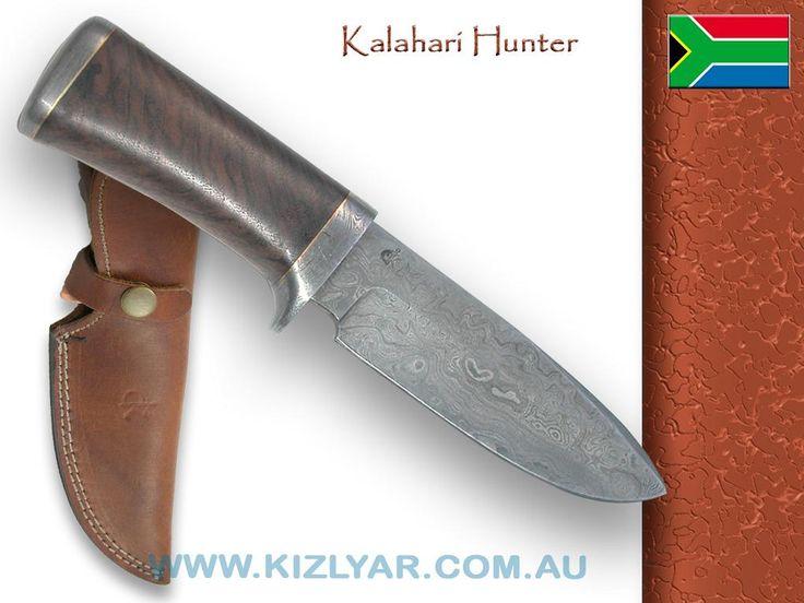 Kappetijn Kalahari Hunter Damascus (Rosewood)