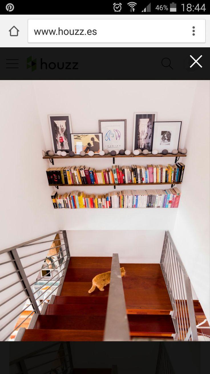 Estanter A Hueco Escalera Ideas Casa Pinterest Hueco  # Muebles Lufe Instrucciones